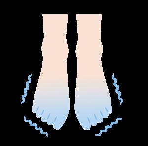 足の冷え性-こんなお悩みはありませんか?