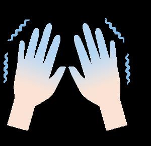 手の冷え性-こんなお悩みはありませんか?